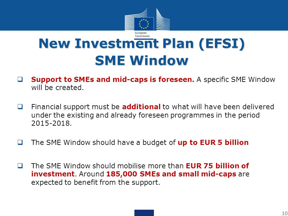 New Investment Plan (EFSI)