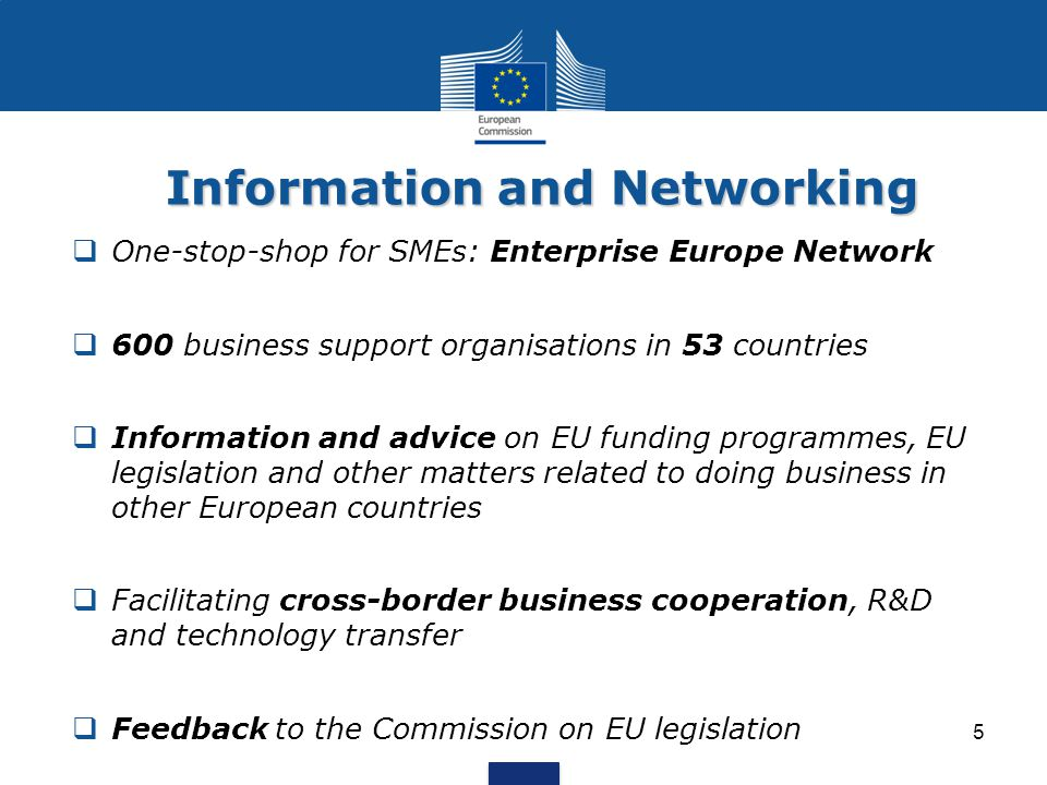Information and Networking