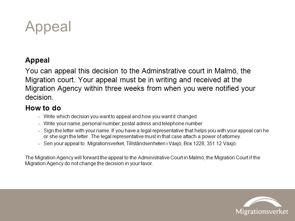 Appeal Appeal.