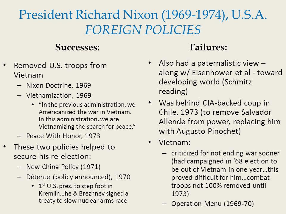 richard nixon successes