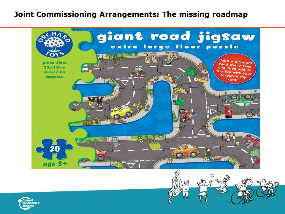 Joint Commissioning Arrangements: The missing roadmap