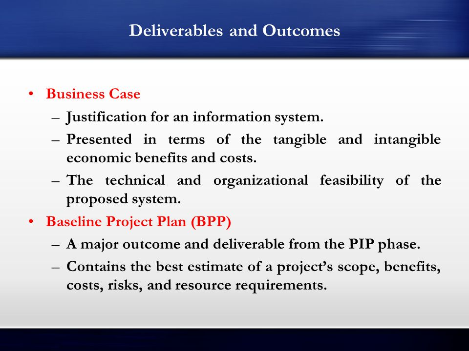 Initiating and Planning Systems Development Projects - ppt