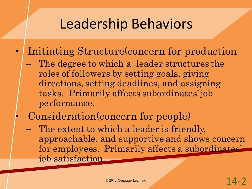 leadership behavior observation and reaction assignment Interpersonal behavior, including teamwork, conflict, leadership, social networks, and  for this assignment you are tasked with selecting  (eg participant observation, interviews, archival, etc) e) a brief description (one paragraph) of the potential problem(s) facing the.