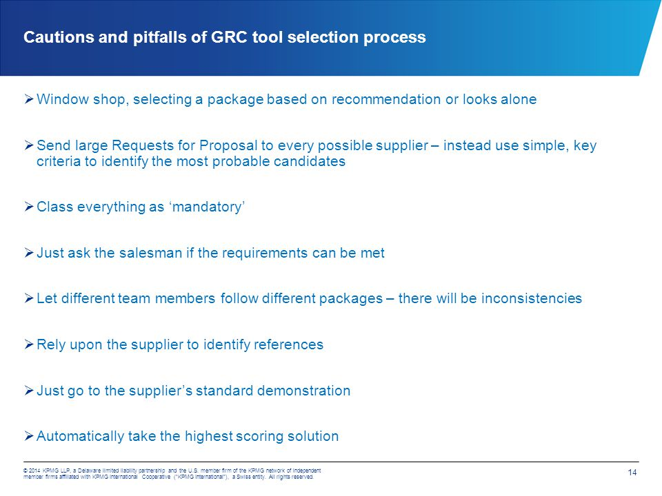Agenda What is GRC? GRC Marketplace today GRC Software