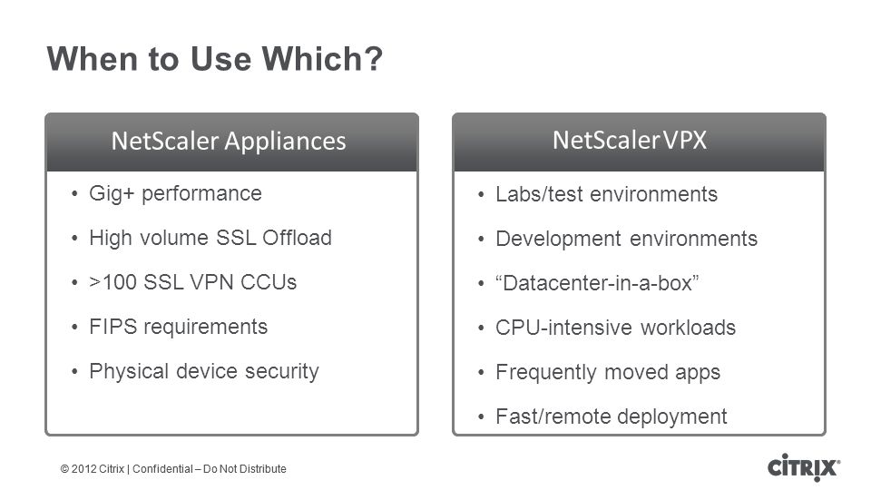 Partner Workshop Support: NetScaler ADC Fundamentals - ppt download