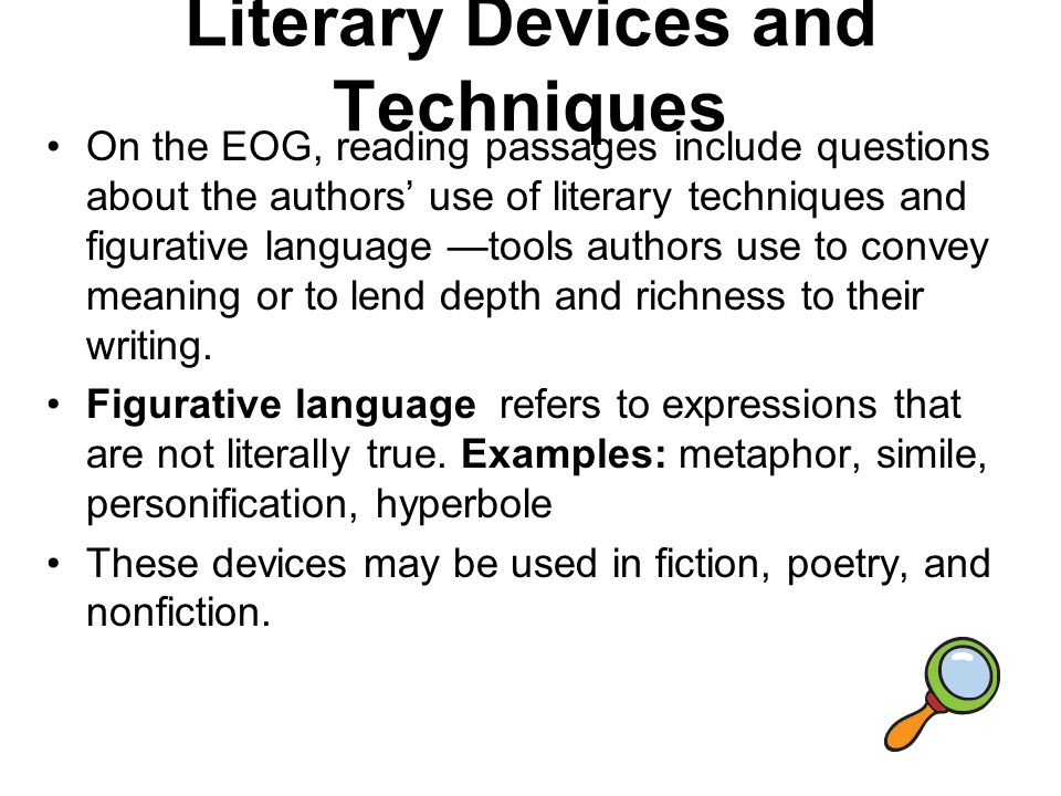 Discovering Literary Elements Devices Ppt Video Online Download