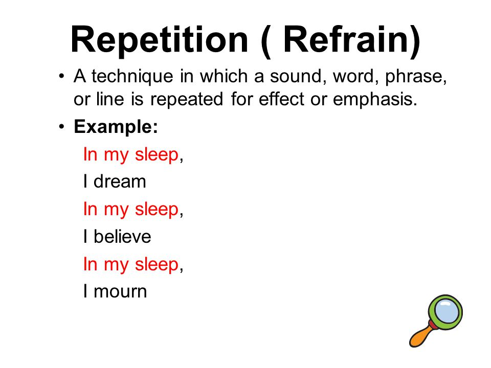 Refrain Examples Choice Image