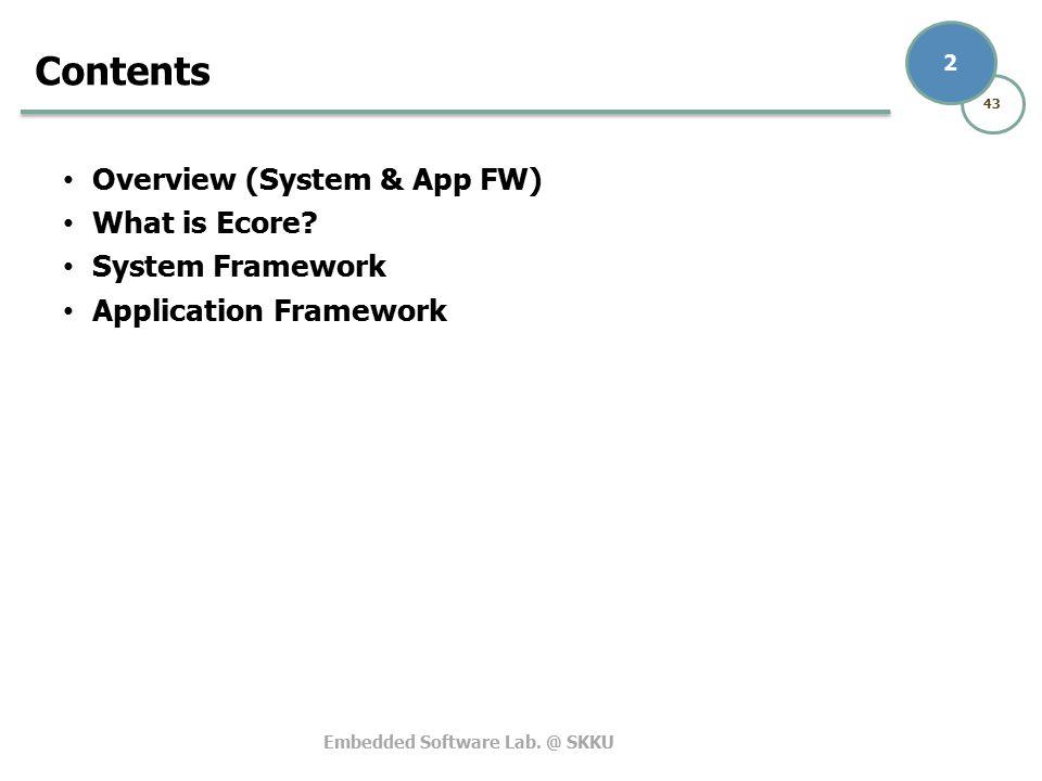 Tizen System / App Framework - ppt video online download
