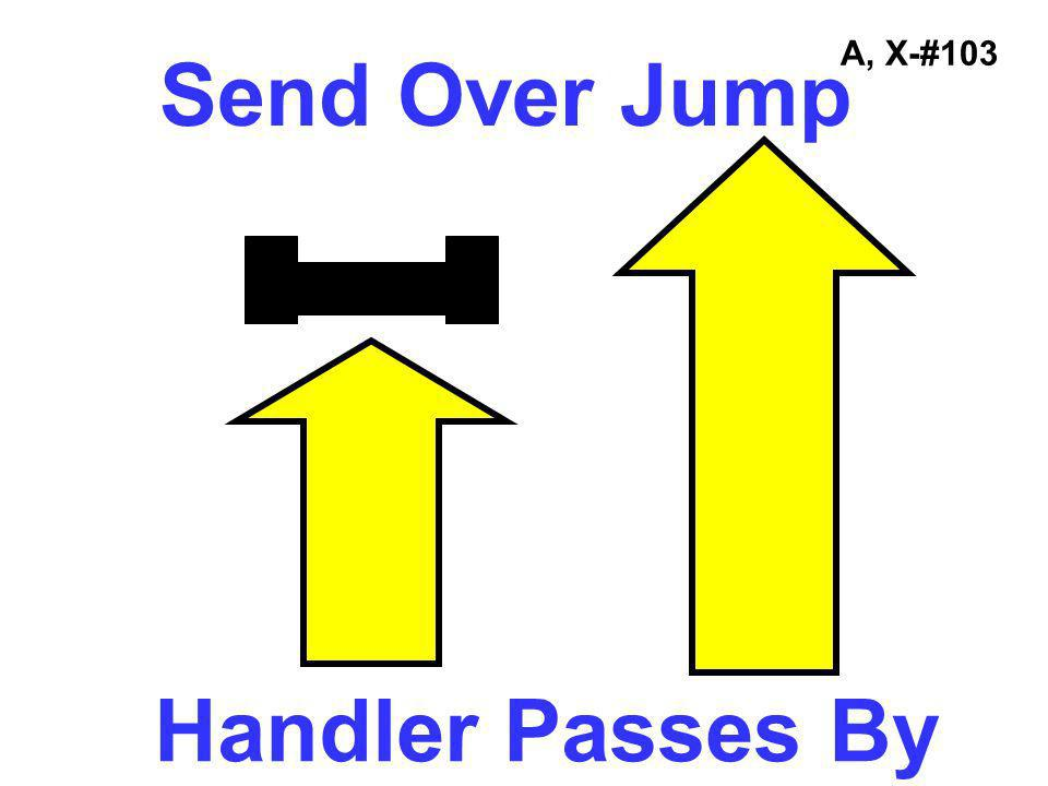 Send Over Jump Handler Passes By
