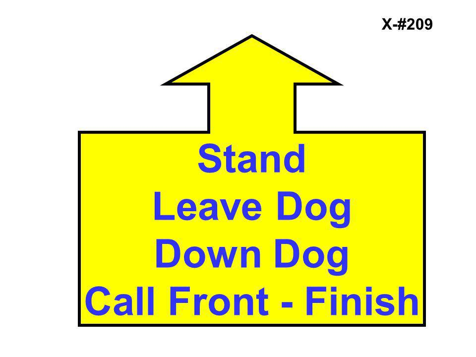 Stand Leave Dog Down Dog Call Front - Finish