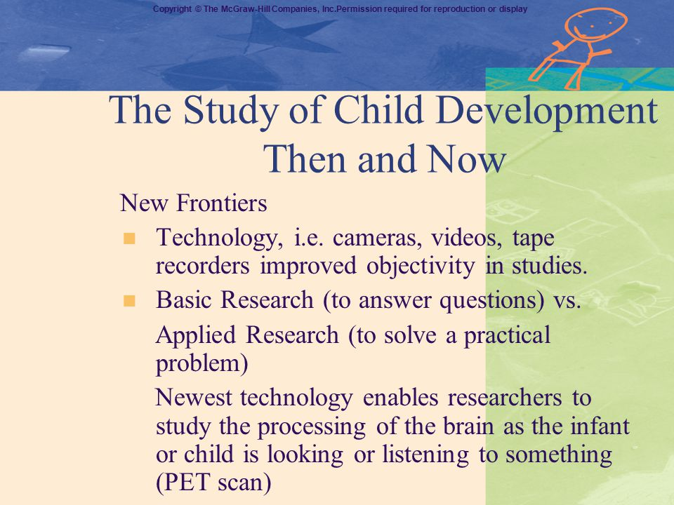 The Study of Child Development Then and Now