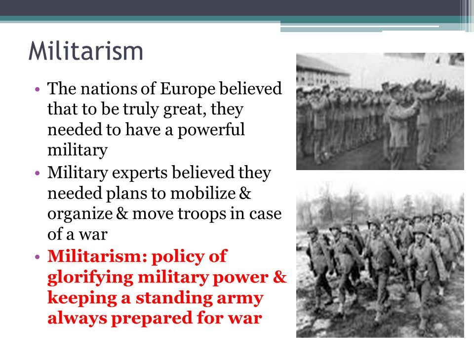 chapter 13 section 1 marching toward war ppt download rh slideplayer com World War I Soldiers Training US War Men Marching In