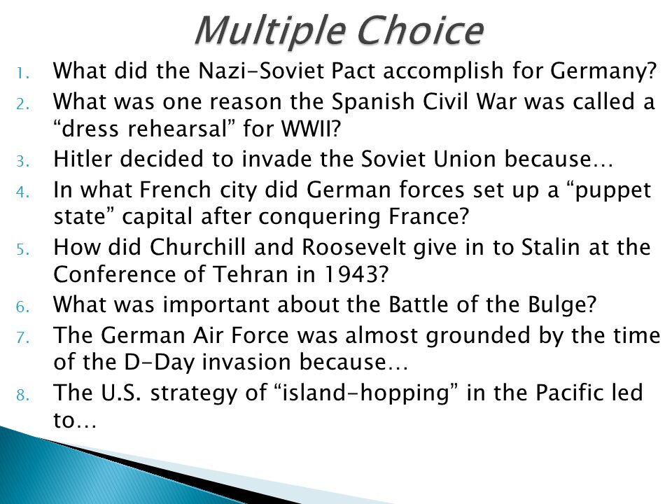 what did the nazi soviet pact accomplish for germany