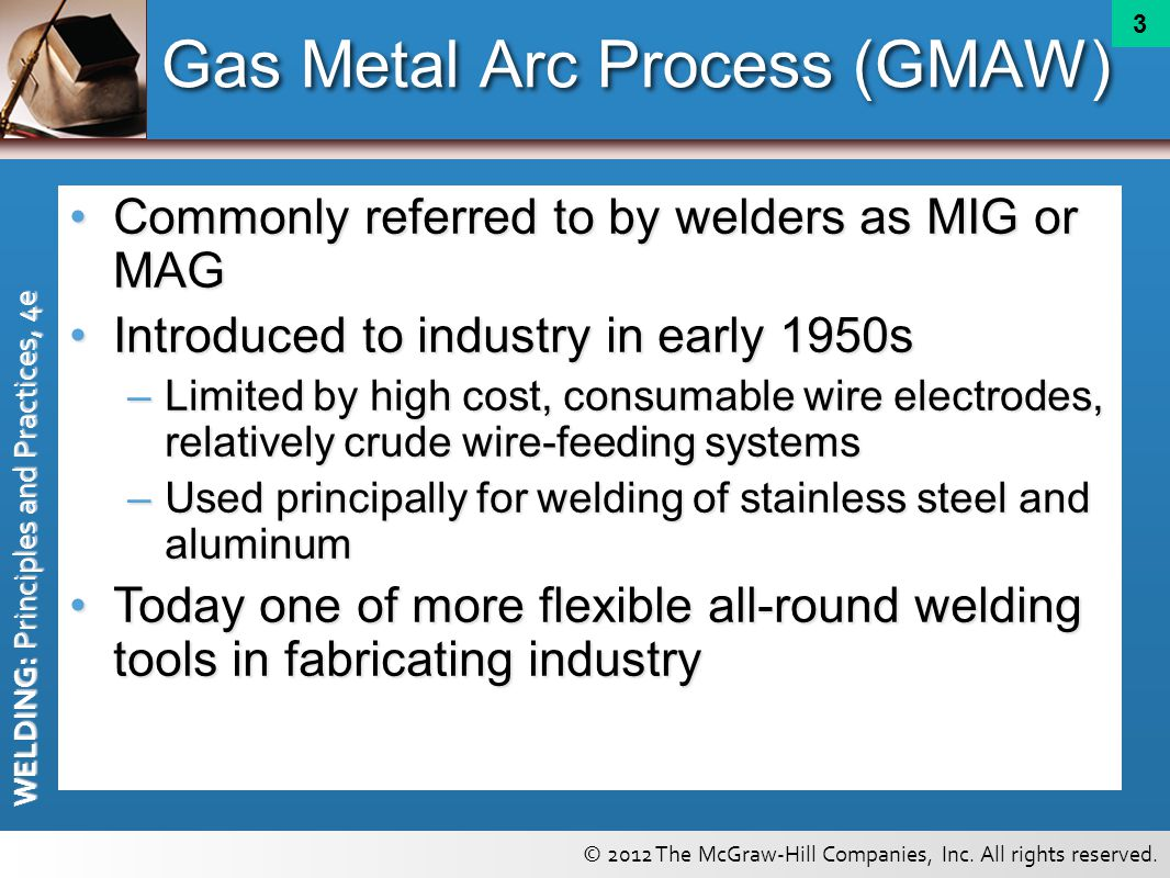 Gas Metal Arc and Flux Cored Arc Welding Principles - ppt download