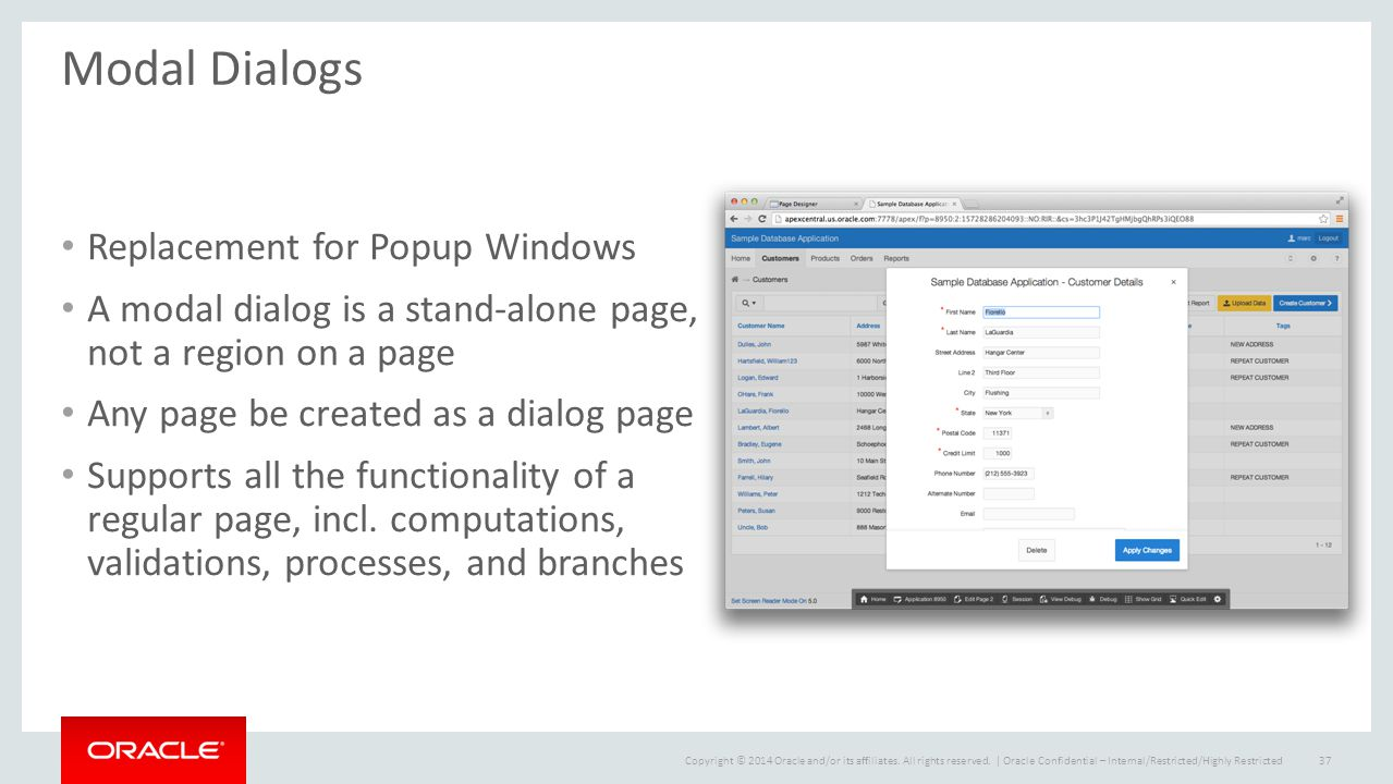Oracle Application Express 5 - ppt download