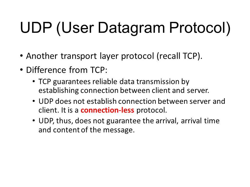 UDP and Multi-thread Socket Programming - ppt video online