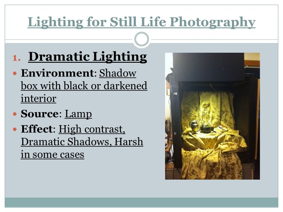 Lighting for Still Life Photography