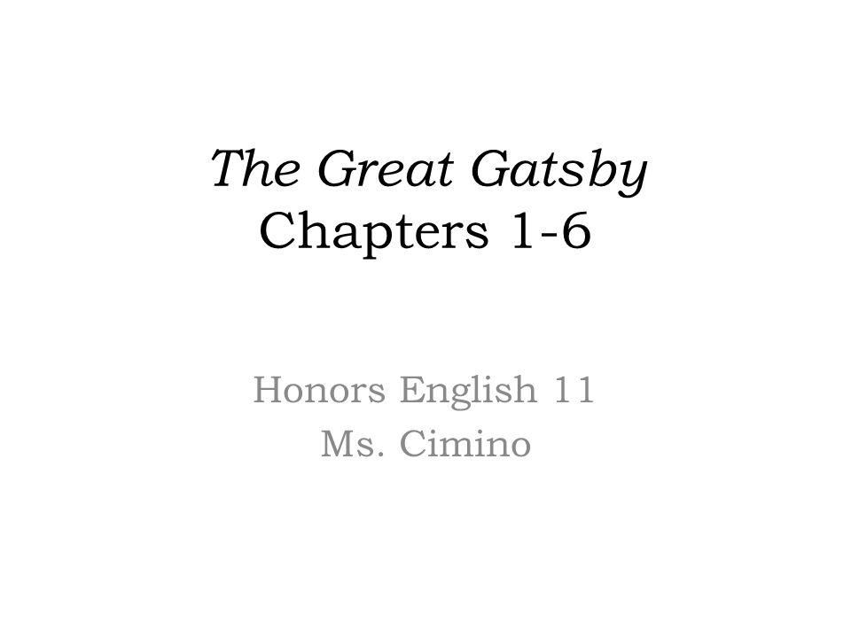 the great gatsby chapter questions 5 nick tried to make gatsby's funeral a respectable affair but nobody came only nick, the minister, and mr gatz (gatsby's father from minnesota) were there - not one of gatsby's party friends or racketeering buddies, not daisy, not jordan baker.