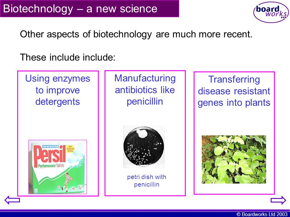 Biotechnology – a new science