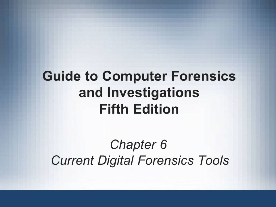 Guide To Computer Forensics And Investigations 4th Edition Ebook