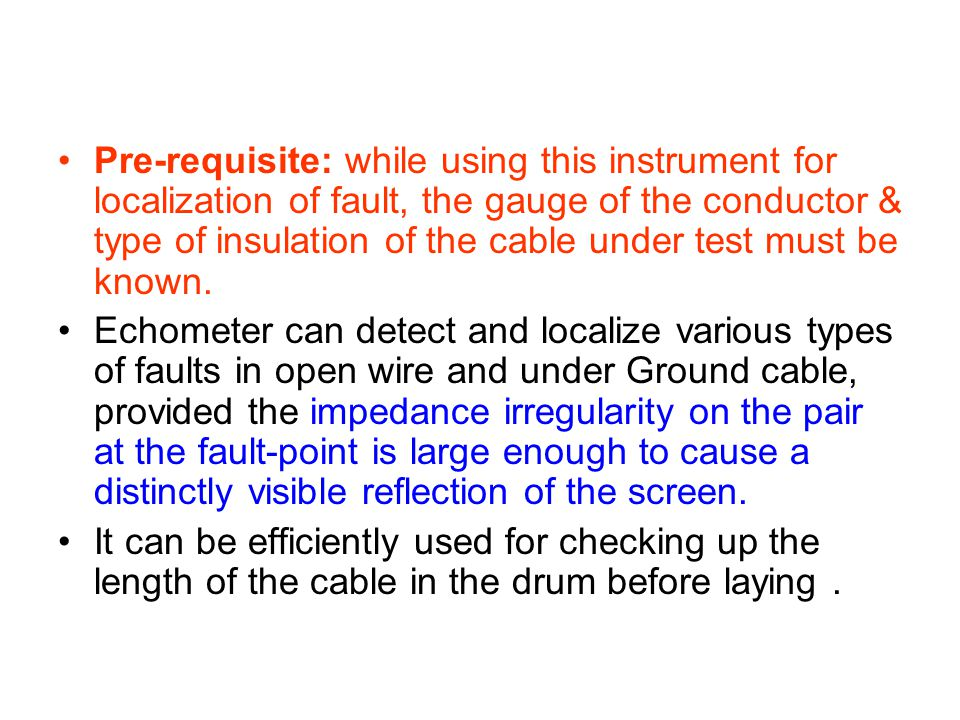 CABLE FAULT LOCALISATION - ppt video online download