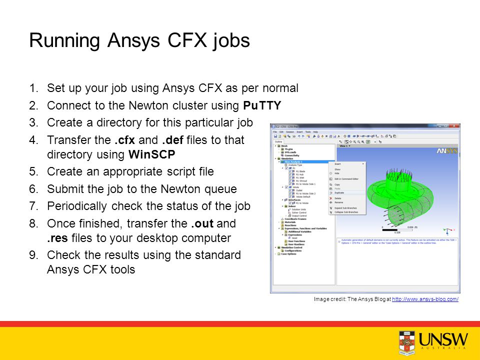 Using HPC for Ansys CFX and Fluent - ppt video online download