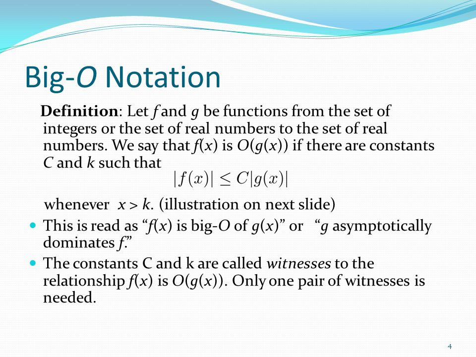 The Growth of Functions - ppt video online download