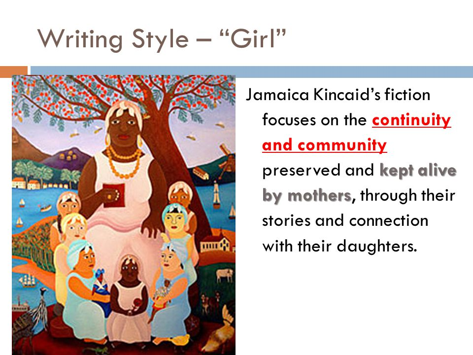 jamaica kincaid short stories online
