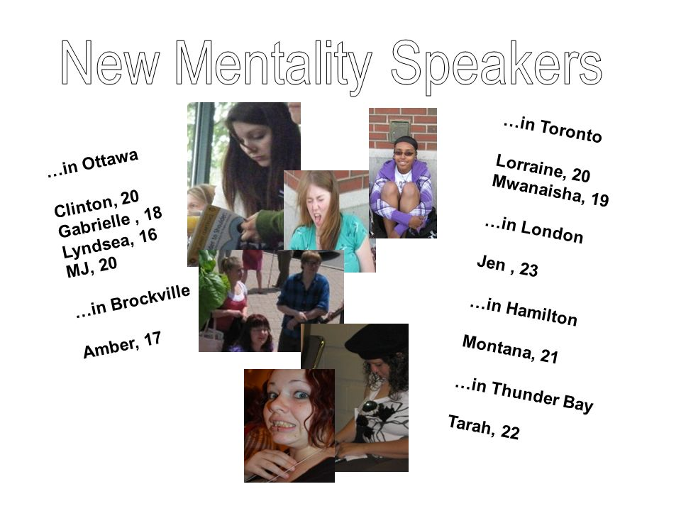New Mentality Speakers