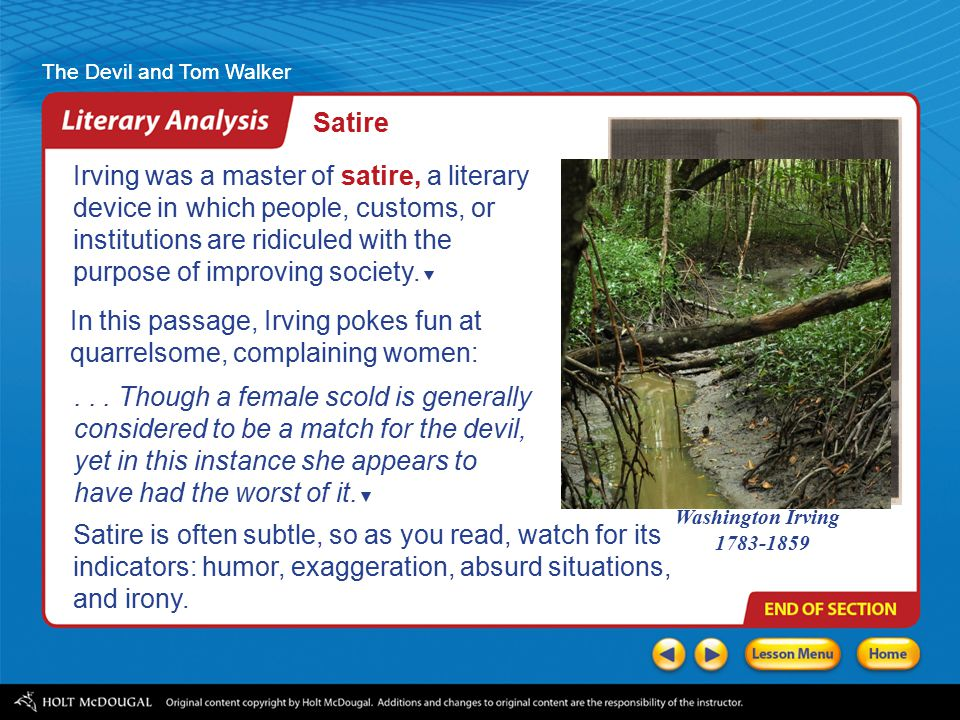 the devil and tom walker essay prompts Essays for the devil and tom walker the devil and tom walker essays are academic essays for citation these papers were written primarily by students and provide critical analysis of the devil and tom walker by washington irving.