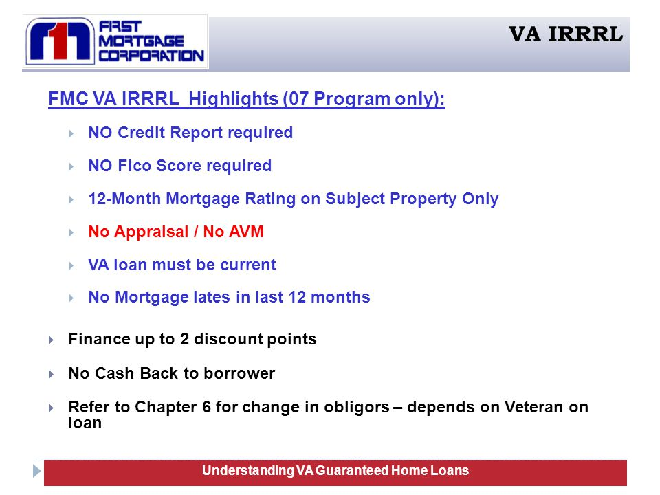 Va guaranteed home loans training ppt download for Loan for land only