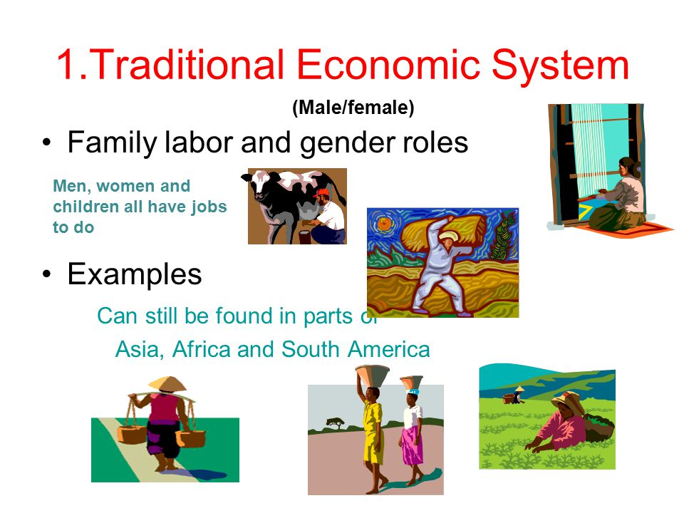 economic systems 1. traditional economic system - ppt download