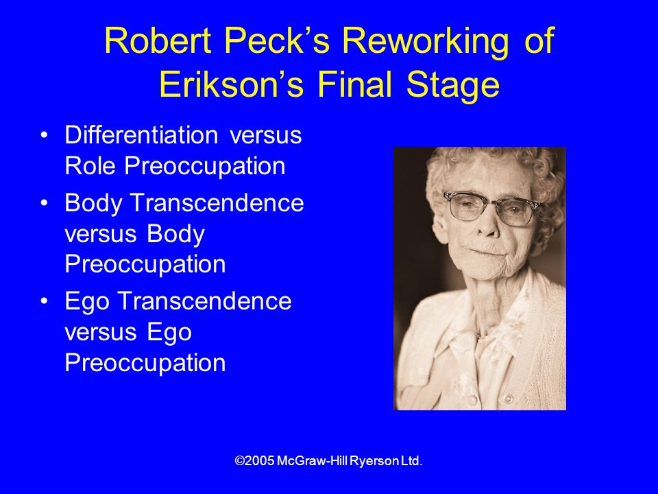 robert peck developmental tasks