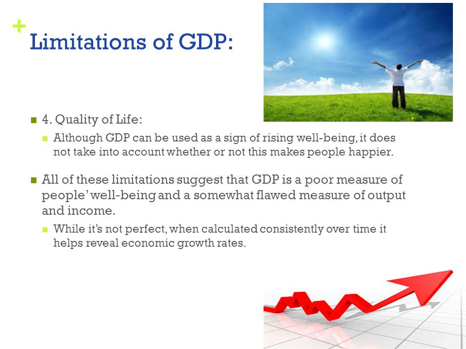 Limitations of GDP: 4. Quality of Life: