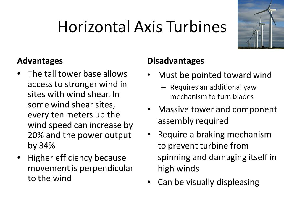 Wind Energy & Technology - ppt video online download