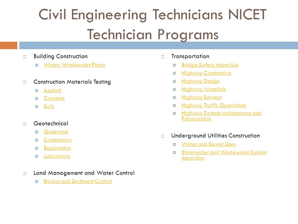 an overview of nicet certification ppt video online download rh slideplayer com