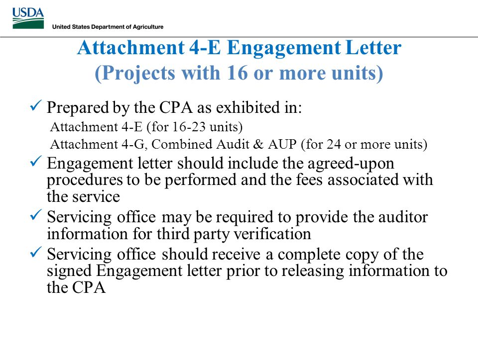 agreed upon procedures engagement letter new agreed upon procedures engagement letter cover 5829