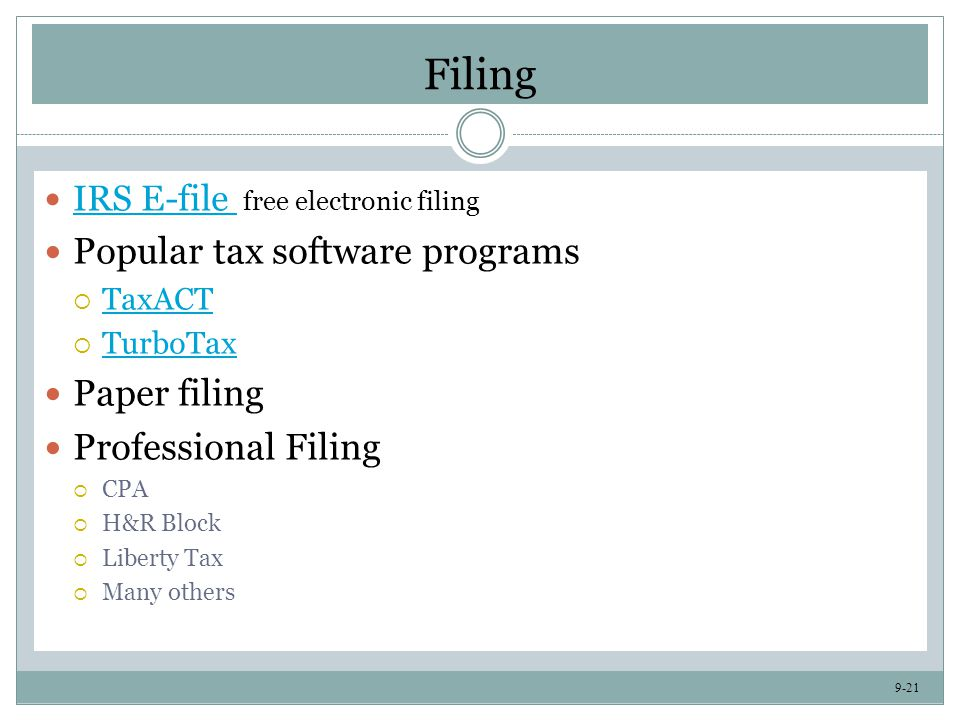 Tax Management CHAPTER PLAYLIST SONGS: - ppt video online