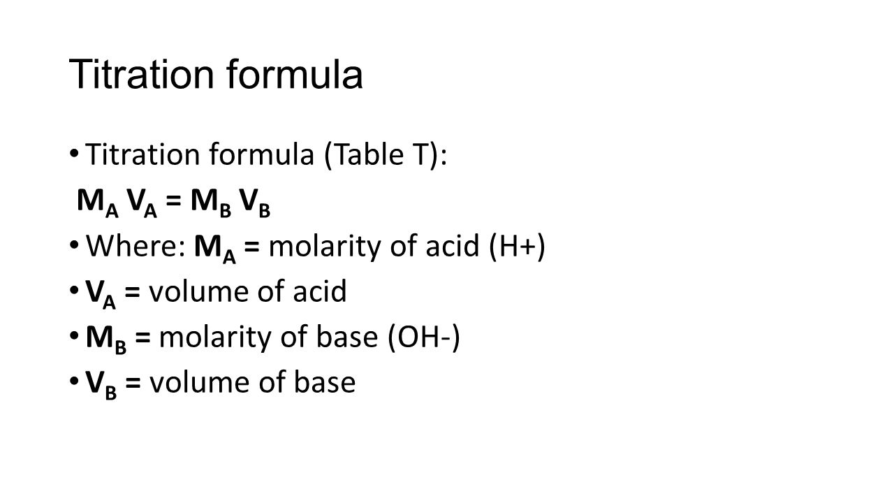 aim  what is titration  write the completed neutralization