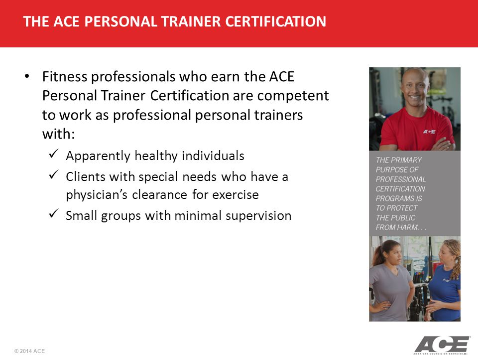 ACE Personal Trainer Manual 5th Edition - ppt video online download
