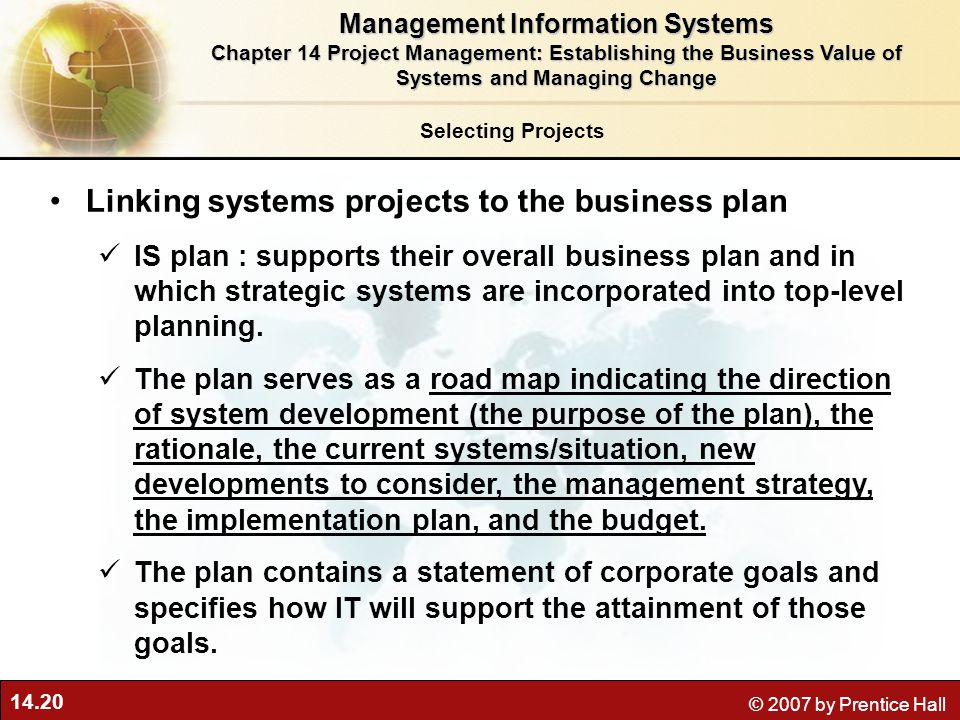 integrating information system with business strategy