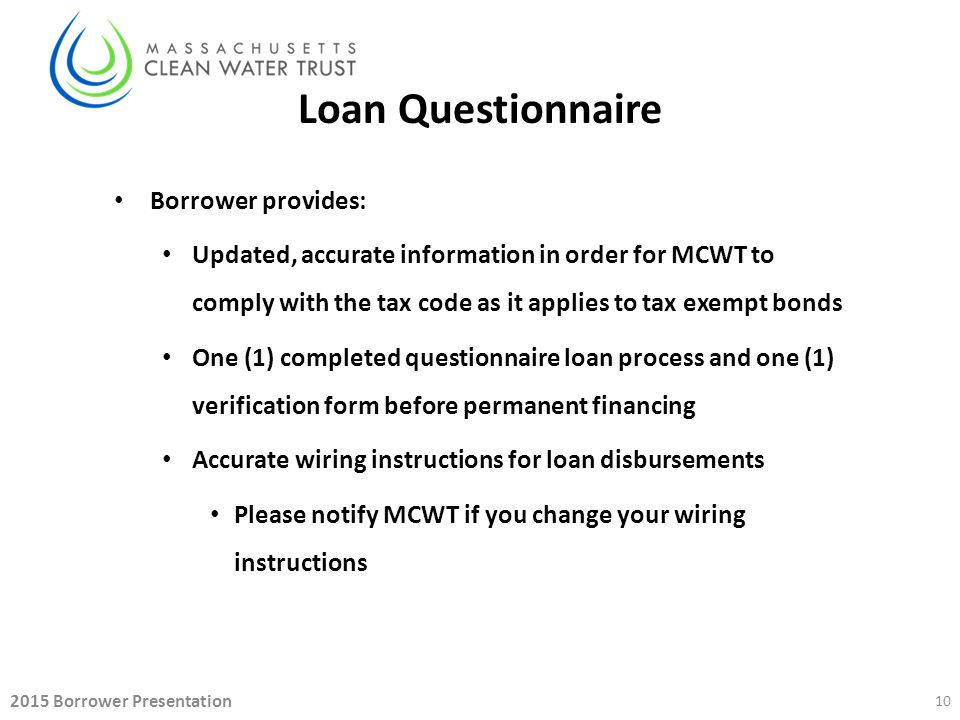 Steps To Completing The Srf Loan Process Ppt Download