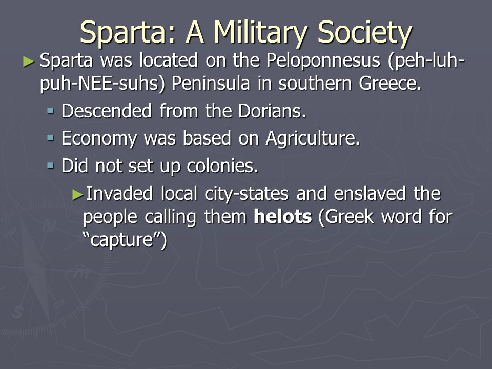 spartan society related essay Spartan was one of the divisions of inhabitants of laconia, and the spartan was well-known as the highest class in the society, they were the governors, rulers and soldiers the system of sparta government was a monarchy.