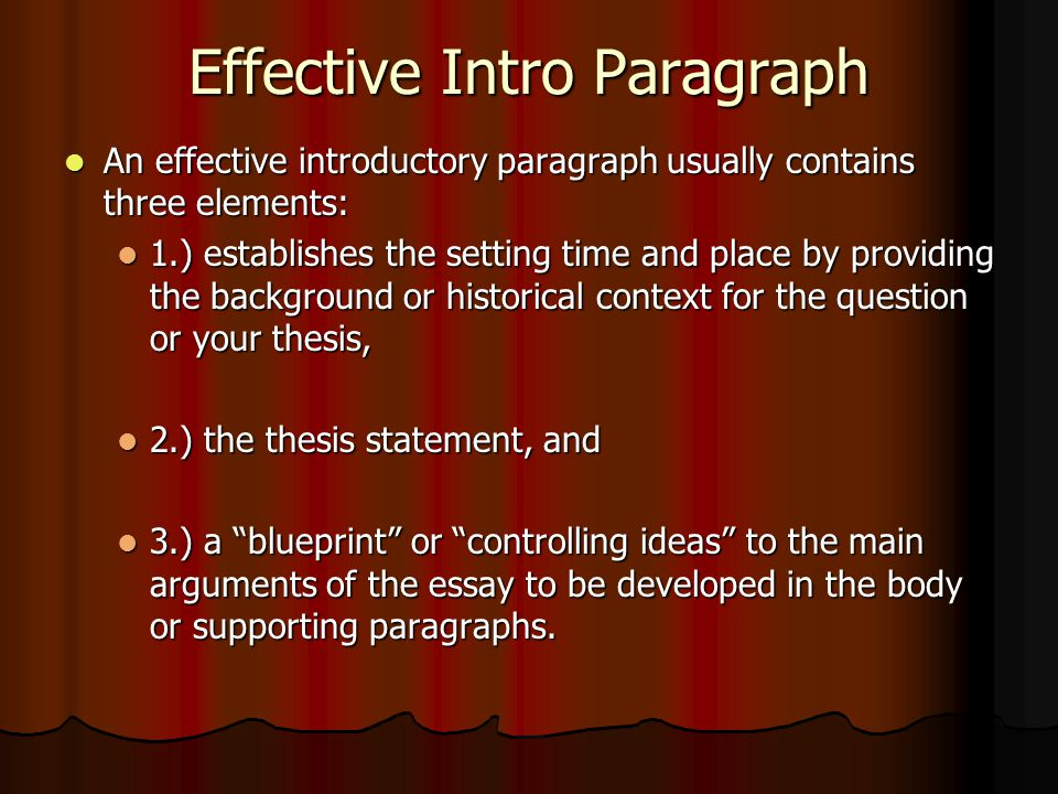 writing effective introductions for essays Introductions & conclusions there is no formula for writing effective introductions and conclusions—but below i have listed some strategies that you may find helpful.
