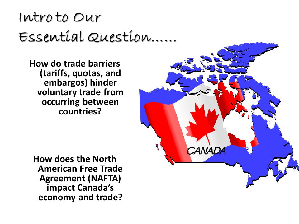 Intro to Our Essential Question……