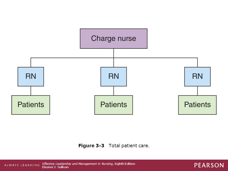 Figure 3-3 Total patient care.
