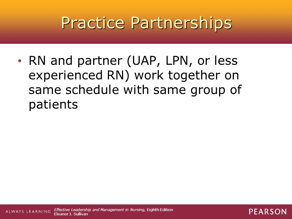 Practice Partnerships