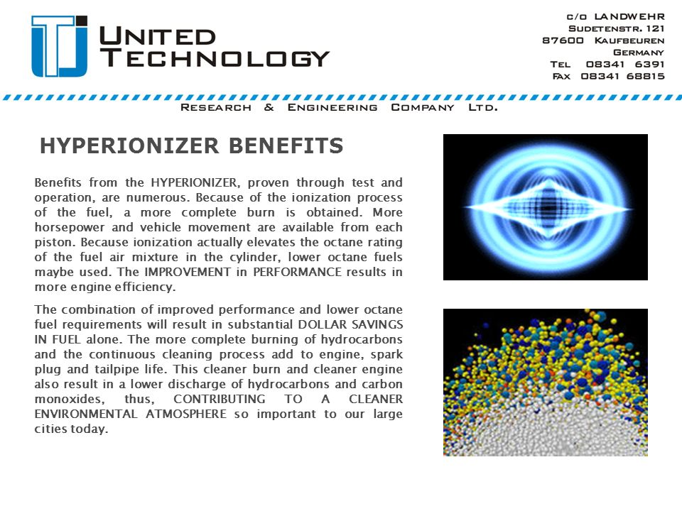 HYPERIONIZER BENEFITS