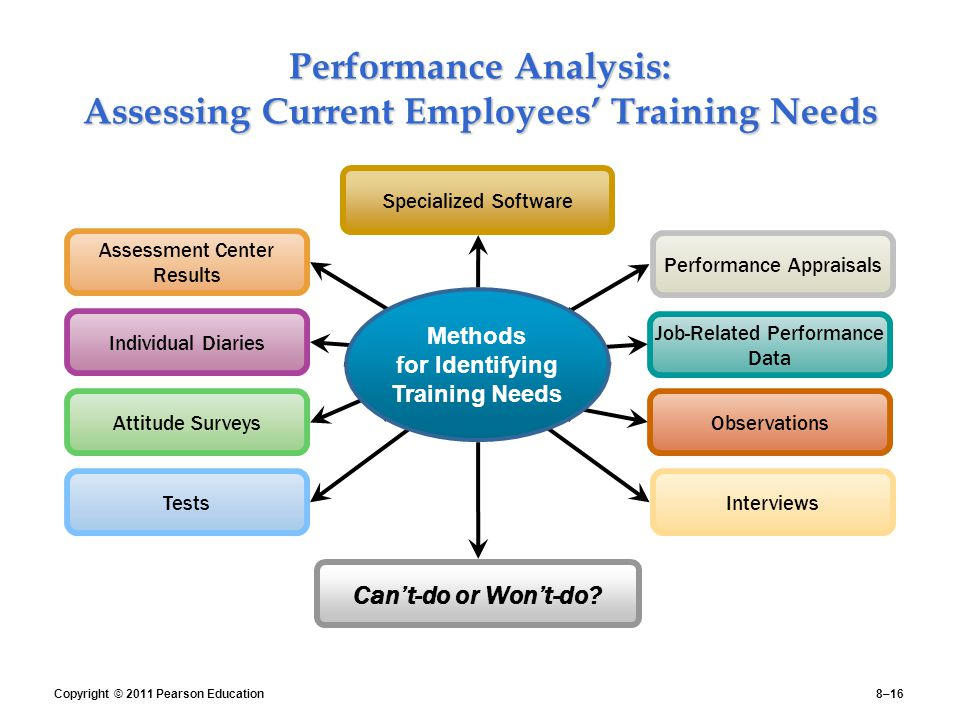 Performance Analysis: Assessing Current Employees' Training Needs
