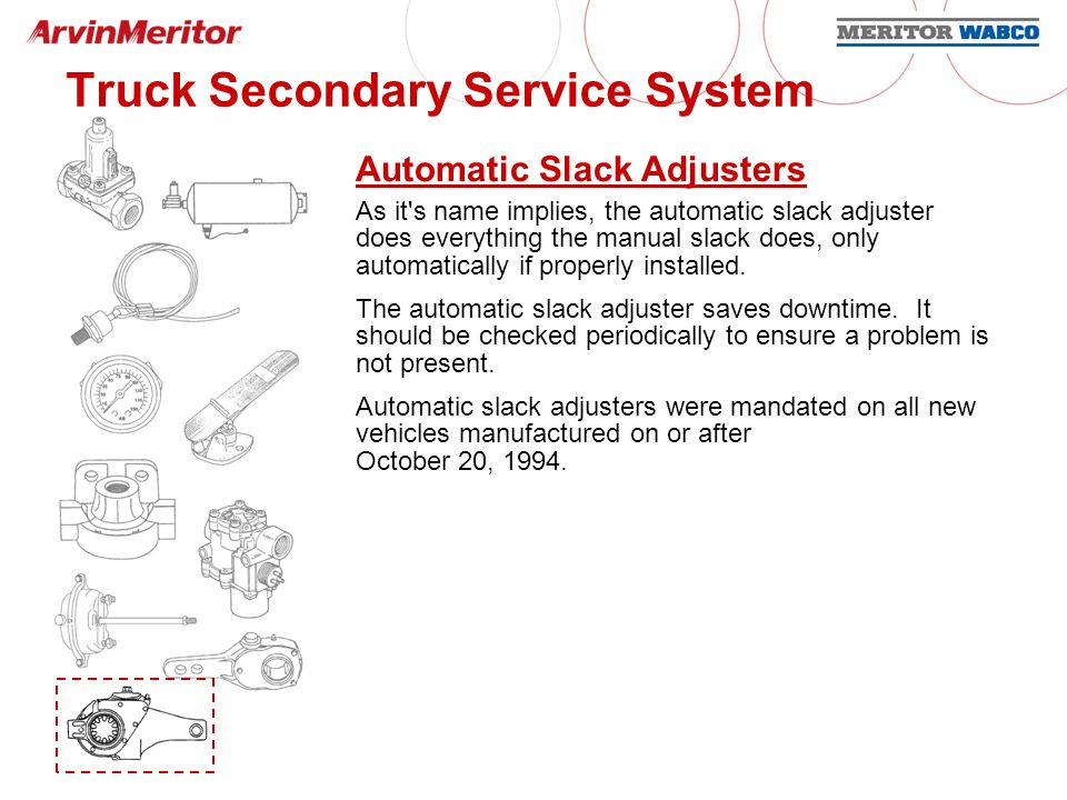 Air Brake Systems  - ppt download